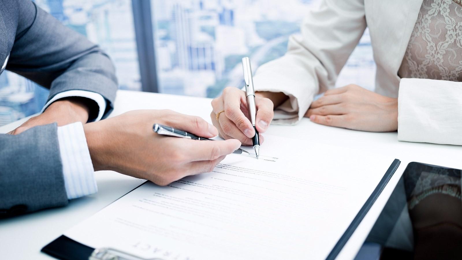 Подписание и регистрация ДКП