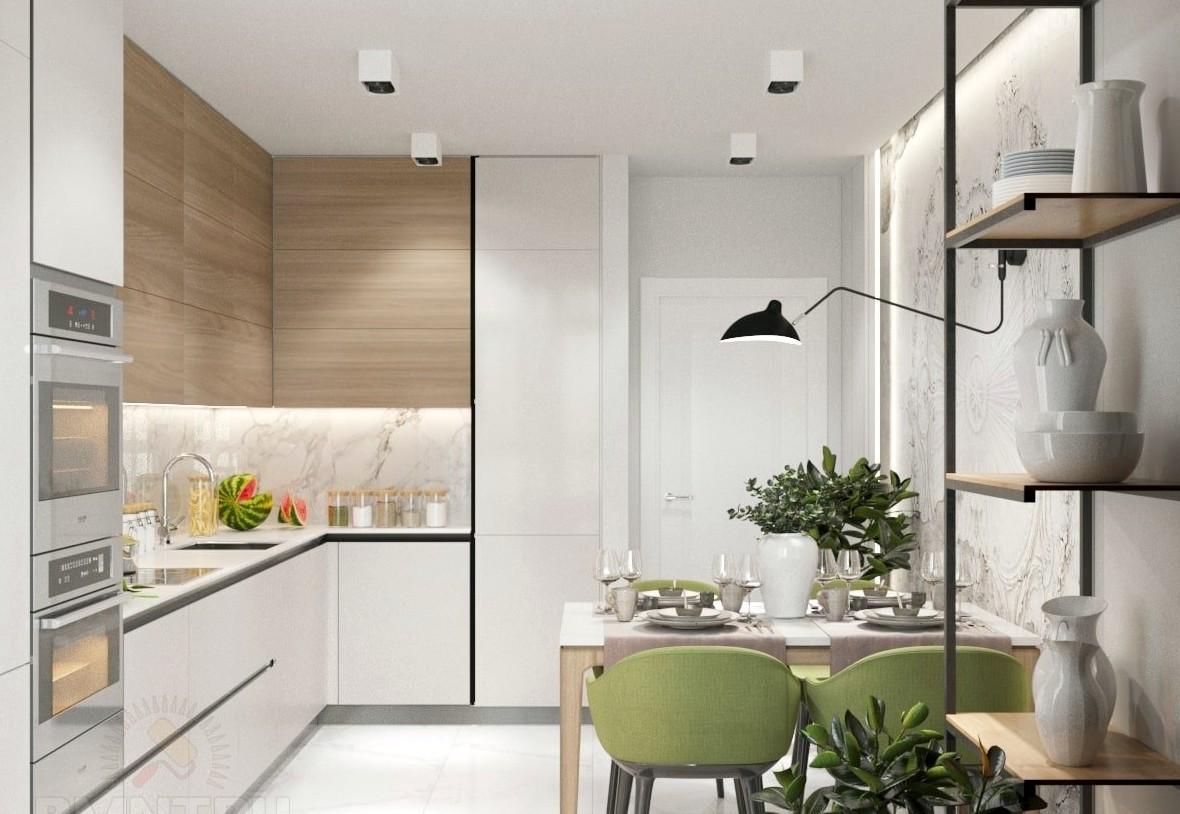 Как отделать кухню в новой квартире